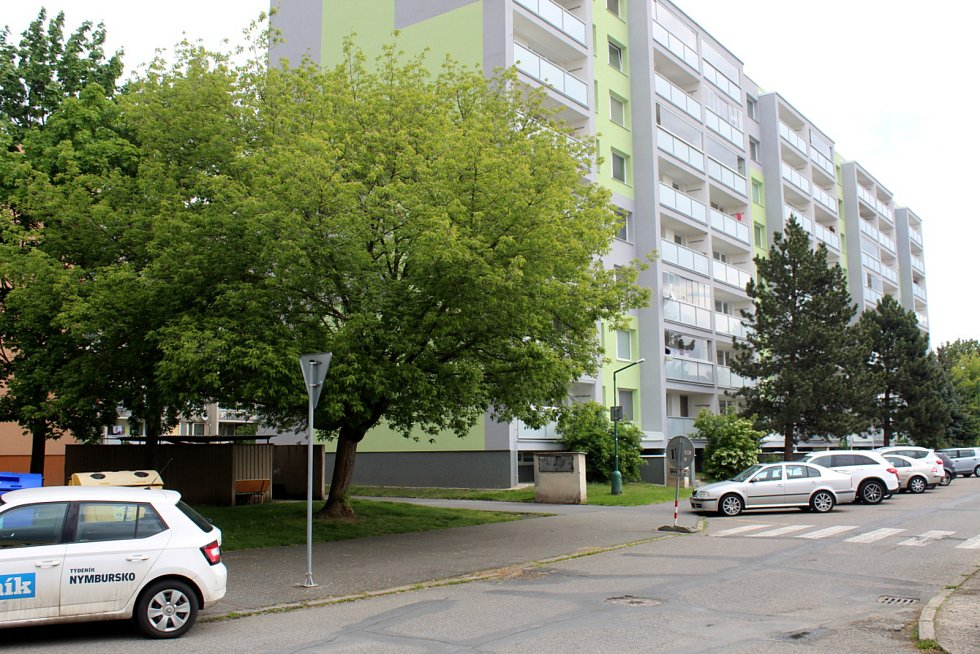 Sídliště Jankovice v Nymburce.