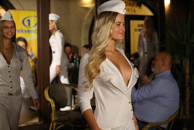Finalistky Miss České republiky v Poděbradech.