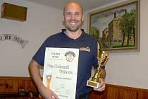 Bohumil Valenta, sládek nymburského pivovaru a Sládek roku 2016 v republice.