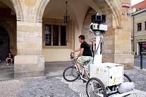 Společnost Google natáčela památky v Nymburce