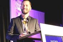 Sportovcem roku na Nymbursku se stal sympatický kanoista Ondřej Petr.