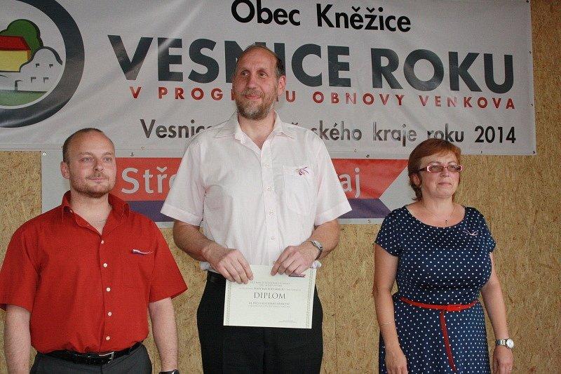 Kněžice slavily zisk titulu středočeská Vesnice roku 2014