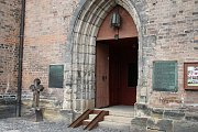Město nechalo nahlédnout do kostela sv Jiljí