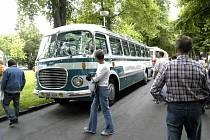 Zlatý bažant přiveze historické autobusy.