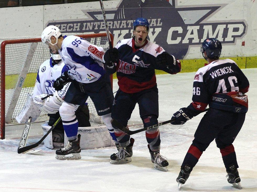Hokejisté Nymburka v letošní sezoně ve druhé lize hrát nebudou. Fanoušci tak přijdou o záživné derby s Kolínem.