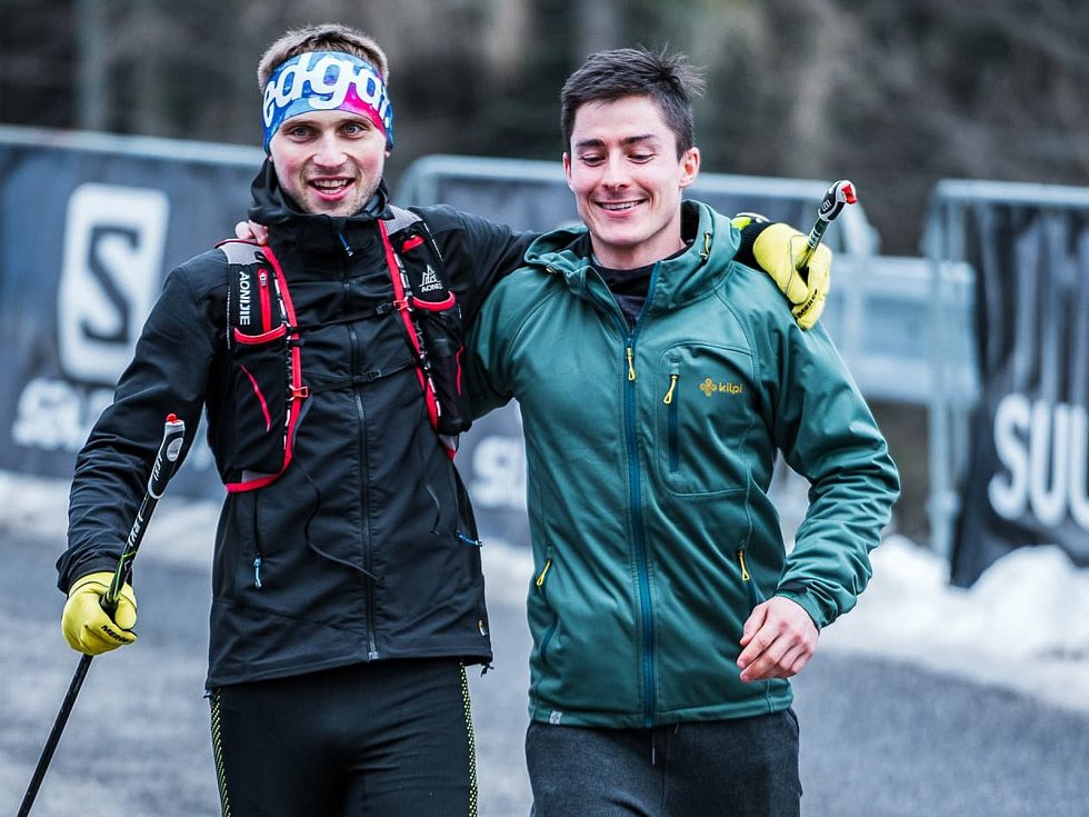 Extrémní závodník Lukáš Novák ovládl se svým kolegou celodenní závod na Ještědu