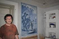 Křinecký zámek ukrývá vzácné Modré salonky.