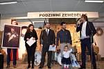 Z vyhlášení výherců rybářské soutěže Středočeský šupináč v Lysé nad Labem.