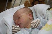 DOMČA Z MILOVIC. DOMINIK CABRNOCH si prvně prohlédl mámu Lucii a tátu Marka 15. ledna 2017 v 9.16 hodin. Klouček s mírami3 220 g a  49 cm už má doma dvouletého brášku Marka.