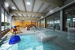 Vizualizace nymburského bazénu.