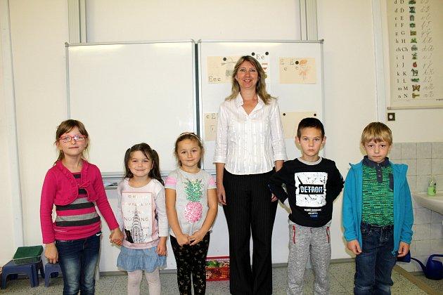 Základní škola Krchleby, třídní učitelka Ilona Machotková