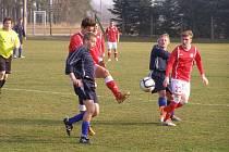 Z fotbalového utkání I.A třídy Ostrá - Sázava (2:0)