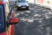 Výtluky na nymburských silnicích