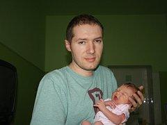 KAROLÍNKA JE SILVESTROVSKÉ MIMINKO! Karolína SVOBODOVÁ, první potomek  Zuzany a Jana z Libice nad Cidlinou, se narodila poslední den roku 2015 v 10.10 hodin s mírami 3 480 g a 51 cm.