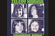 Obálka CD skupiny Zelený Karkul.