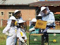 Příměstský tábor se jmenoval Jako včely na zahradě.