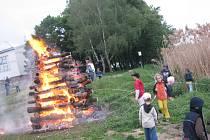 Po celém regionu se pálily čarodějnice.