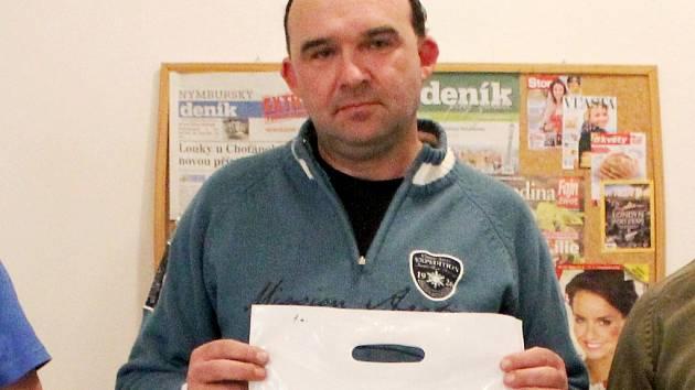 Vítězný Tomáš Vízek