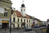 Městská knihovna v Poděbradech.