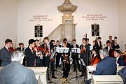 Koncert anglických hudebníků ledoval zaplněný evangelický kostel.