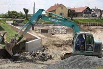 Revitalizace rybníka v Krchlebech