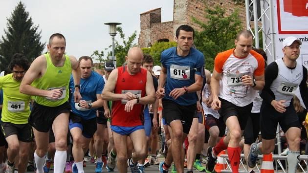 Druhý ročník Nymburského půlmaratonu.