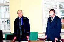 Petr P. (vpravo) byl zproštěn viny