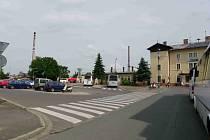 Prostor před nádražím ČD by se mohl změnit v park