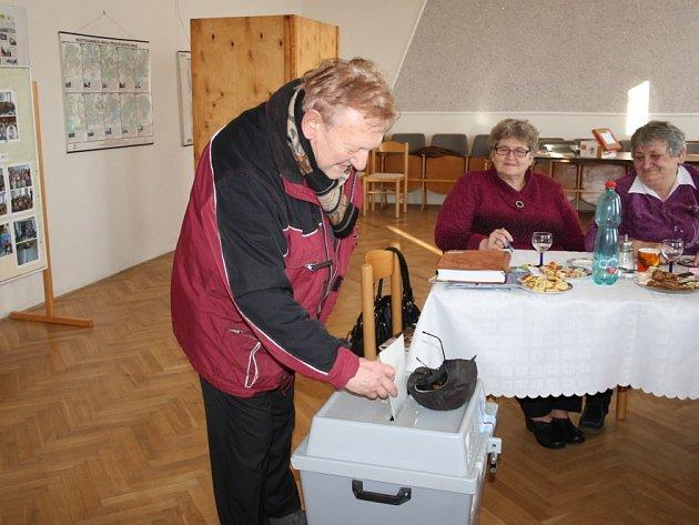 První prezidentské volby v České republice na Nymbursku.