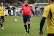 Okresní fotbalové derby I.B třídy vyhrála Loučeň, doma porazila Pátek 4:2.