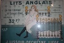 Výstava Secese - Umění - Reklama v kapli