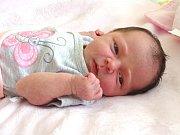 ANEŽKA KUŽELOVÁ se narodila 26. dubna 2018 v 8.23 hodin s délkou 48 cm a váhou 3 040 g. Z prvorozené se radují rodiče David a Daniela z Městce Králové, kde už se na holčičku dopředu těšili.