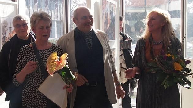 Výstava Heleny Grocholové a Jaroslava Kundráta v Galerii Ludvíka Kuby