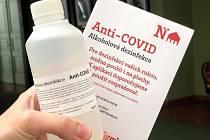 Nymburk organizuje rozdávání dezinfekce podle volebních okrsků.