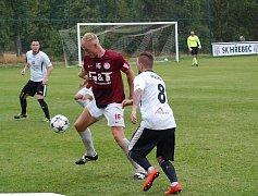 Fotbalisté poděbradské Bohemie prohráli v Hřebči 3:2, přestože u soupeře o dva góly vedli.