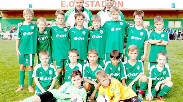 FOTBALOVÝ POTĚR ZE STRAK si zahrál velké finále EON cupu, kde skončil na třicátém místě