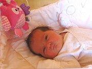 ELEN RYSOVÁ se narodila 17. dubna 2018 ve 12.00 hodin s délkou 51 cm a váhou 4 080 g. Na holčičku se dopředu těšili rodiče Kristýna a Jakub i pětiletý bráška Matyášek. Doma jsou v Nymburce.