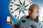 Chytrý telefon, který využívají policisté v Nymburce