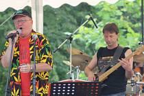 První Swingtime v Poděbradech navštívil i Ivan Hajniš s kapelou The New Blues Band a hostem, kytaristou Sirem Jayem.