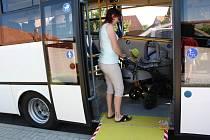 Nízkopodlažní autobus. Ilustrační foto.