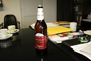 Lipový ležák je speciální edice Postřižinského pivovaru ke 100. výročí založení republiky.