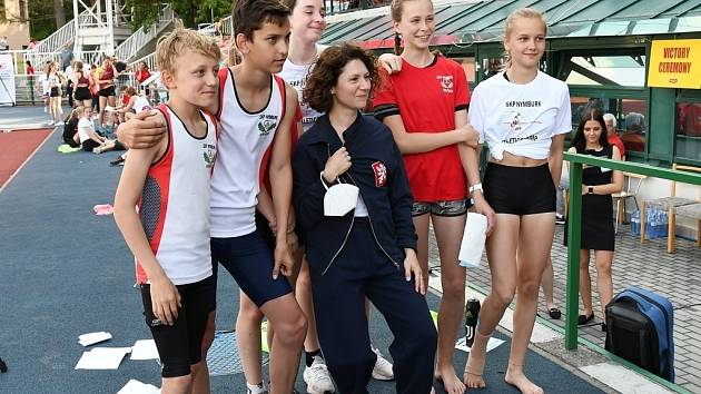 Atleti Nymburka byli v Praze úspěšní