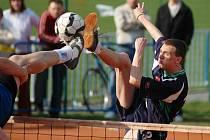 Nohejbalové utkání první ligy Spartak Čelákovice - Slavoj Český Brod (6:3)