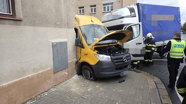 Nymburští hasiči zasahovali během deseti minut hned u tří nehod