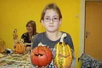 Výroba ozdobných dýní na Halloween v DDM