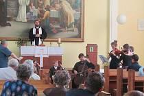 Letošní Noc kostelů v Nymburce byla opravdu pestrá.