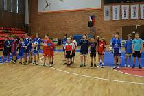 Mladí nohejbalisté na MČR mladších žáků jednotlivců