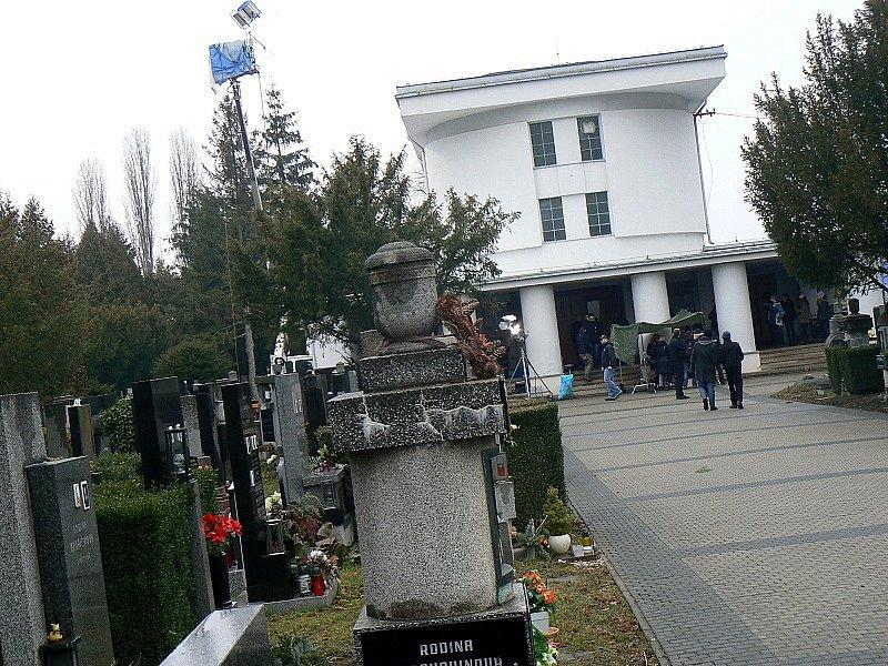 Nymburské krematorium.