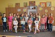 Žáci 1. C ZŠ Tyršova Nymburk, třídní učitelka Alena Kurková.