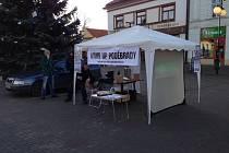 Jedna z petičních akcí propagujících wakeboarding v Poděbradech